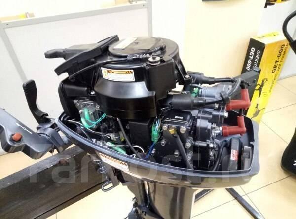 Sea-Pro. 9,90л.с., 2-тактный, бензиновый, нога S (381 мм), Год: 2017 год