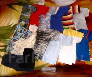 Футболки, рубашки + до 90см росту мальчику. Рост: 80-86 см