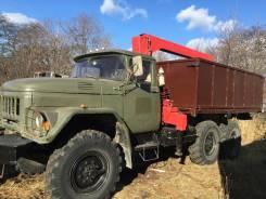 Продаётся грузовик Зил 131 с крановой установкой 3 т. 6 000 куб. см.