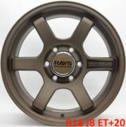 RAYS. 8.0x18, 6x139.70, ET20, ЦО 110,0мм.
