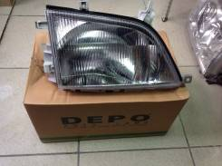 Фара. Toyota: Hiace, Masterace, Town Ace, Dyna, Quick Delivery, ToyoAce, Master Ace Surf, Lite Ace Двигатели: 3YU, 2YU, N04CTU, 15BFTE, 14B, S05CB, S0...