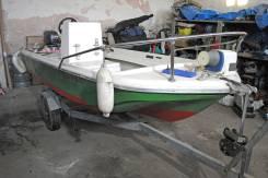 Yamaha Fish. Год: 1995 год, длина 4,00м., двигатель подвесной, 10,00л.с., бензин