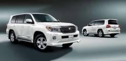 Обвес кузова аэродинамический. Toyota Land Cruiser