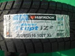 Hankook Winter i*cept IZ2 W616. Зимние, без шипов, 2016 год, без износа, 4 шт