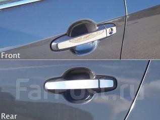 Накладка на ручки дверей. Toyota: Corolla Axio, Mark X, Corolla Fielder, Venza, Prius, Wish Двигатели: 3ZRFAE, 2ZRFAE. Под заказ