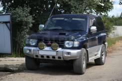 Дефлектор капота. Mitsubishi Pajero. Под заказ