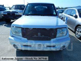 Решетка радиатора. Mitsubishi Pajero iO Mitsubishi Pajero Pinin Двигатели: 4G94, 4G93
