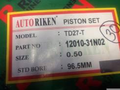 Поршень. Nissan Terrano Nissan Homy, ARE24, ARMGE24, KRME24, ARME24, KRE24 Nissan Caravan, KRE24, KRME24, ARMGE24, ARE24, ARME24 Nissan Datsun Truck...