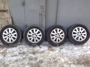 Летний комплект колес 215/65/16 на штамповке с колпаками. x16 5x114.30