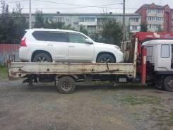 Эвакуатор, грузовик кран 3тн. + борт 5 тн. Лебедка, сходни. От 1000руб