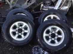 Колёса Mitsubishi c резиной Bridgestone Blizzak DM-V1 265/70 R15