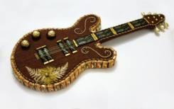 Гитара из конфет. Подарок на 14 февраля. Под заказ