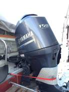 Yamaha. 150,00л.с., 4х тактный, бензин, нога X (635 мм), Год: 2014 год