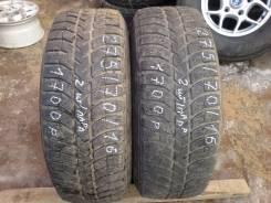 Bridgestone Ice Cruiser 5000. Зимние, шипованные, 2005 год, износ: 50%, 2 шт