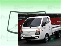 Лобовое стекло Hyundai H100 2004- () 1458*858* (Зеленоватый оттенок с зеленым козырьком, Бренд:ВSG)