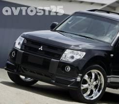 Фара противотуманная. Mitsubishi Pajero, V83W, V87W, V88W, V93W, V97W, V98W