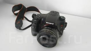 Sony Alpha SLT-A65 Kit. 20 и более Мп, зум: 14х и более
