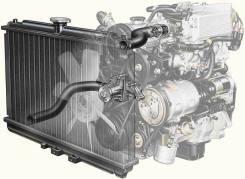 Радиатор охлаждения двигателя. Toyota: Nadia, Ipsum, Voxy, Land Cruiser, Land Cruiser Prado, Gaia Lexus LX470, UZJ100 Lexus LX570 Двигатели: 3SFSE, 3S...