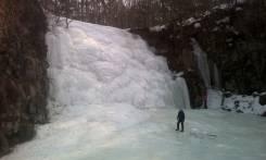 Экскурсия, тур на замёрзшие водопады, Кравцовские, Шкотовские, Берендей