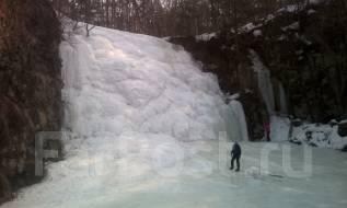 Шкотовские водопады 24,25 февраля! Неожиданный + Тигровый! Шашлык-тур