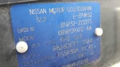Кузов в сборе. Nissan Skyline GT-R, BNR32 Двигатель RB26DETT