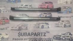Накладка на порог. Subaru Legacy, BP5, BPE, BP9 Двигатели: EJ253, EJ203, EJ30D, EJ204, EJ20Y, EJ20X