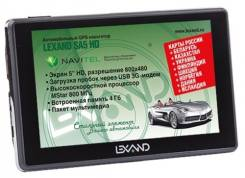 Отличный помощник на дороге - автомобильный навигатор Lexand SA5 HD