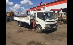 Hino Dutro. Продам грузовик с манипулятором, 5 000 куб. см., 4 000 кг.