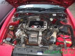 Радиатор охлаждения двигателя. Toyota Celica, ST182, ST185 Двигатели: 21RC, 18RC