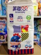 Подгузники детские Brave Baby L (9-13кг) 52 шт. 9-14 кг 52 шт
