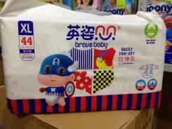 Подгузник детский Brave Baby XL (12+ кг) 44 шт. 12+ кг 44 шт