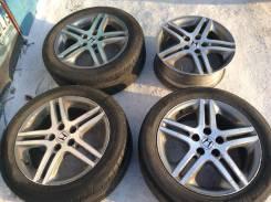 Комплект клиента Honda Odysey Accord Stepwagon Stream R17 5x114,3 ET55. 7.0x17 5x114.30 ET55