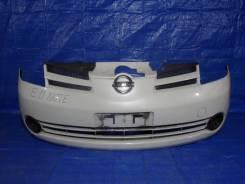 Бампер. Nissan Note, ZE11, E11, NE11 Двигатели: CR14DE, HR16DE, XH1, HR15DE