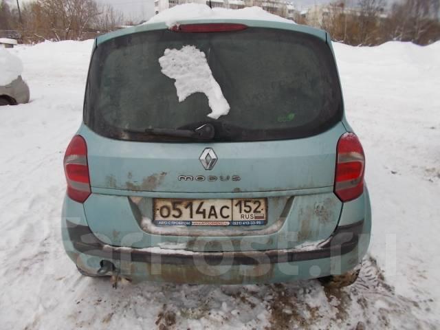 Renault Modus. D4FD740