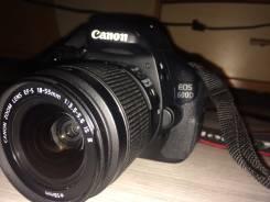 Canon EOS 600D. 5 - 5.9 Мп, зум: 3х