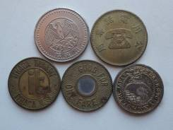 Подборка из 5 жетонов. Без повторов! Торги с 1 рубля!