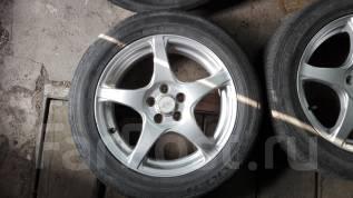 Продам колеса R16 на летней резине. 6.0x16 5x100.00 ET48