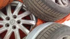 Комплект оригинальных колёс мазда 6. 7.0x17 5x114.30 ET50 ЦО 67,1мм.