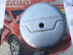 Колпак запасного колеса. Toyota Land Cruiser Prado, KZJ120, RZJ125, TRJ125, GRJ120W, LJ125, GRJ125, TRJ120, KDJ120, RZJ125W, RZJ120W, RZJ120, TRJ125W...