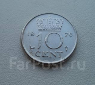 Нидерланды, 10 центов 1976