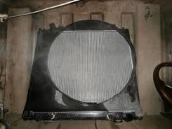 Радиатор охлаждения двигателя. Mitsubishi Delica, PD8W