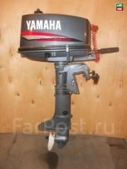 Yamaha. 5,00л.с., 2х тактный, бензин, нога S (381 мм), Год: 2007 год