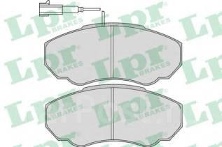 Колодка тормозная дисковая. Citroen Jumper Fiat Ducato Peugeot Boxer