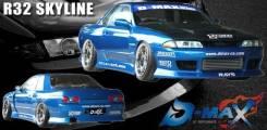 Обвес кузова аэродинамический. Nissan Sports Nissan Skyline, BNR32 Двигатель RB26DTT. Под заказ