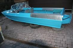 Казанка-5. длина 4,60м., двигатель подвесной, бензин