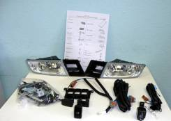 Фара противотуманная. Honda Civic Honda Civic Hybrid Двигатели: R18A1, R16A2, R18A2, LDA2