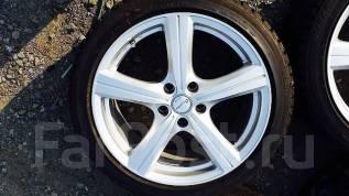 Комплект колёс R18 на зиме. 7.5x18 3x98.00, 5x114.30 ET38 ЦО 73,0мм.