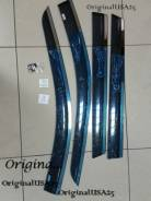 Ветровик на дверь. Nissan X-Trail, HNT32, HT32, NHT32, NT32, T32 Двигатели: MR20, MR20DD, QR25, QR25DE, R9M