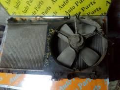 Вентилятор охлаждения радиатора. Toyota Carina ED, ST183 Двигатель 3SFE