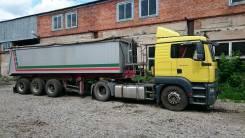 MAN TGA 18.480 4x2 BLS-L. Продам седельный тягач МАN TGA 18.480 4*2 BLS в сцепке, 10 000 куб. см., 20 000 кг.